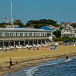 Motel on the water in Falmouth, coming back Island Queen