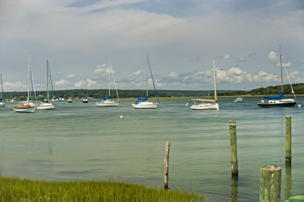 Sailboats Westport Harbor