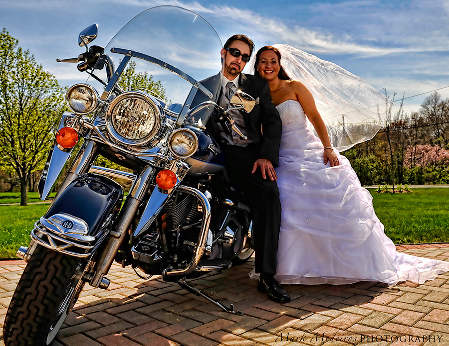 Harley, married couple in New Bedford, Ma
